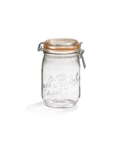 Siegelglas 1,5 L Ø 85 mm - Stückweise - Le Parfait - 1