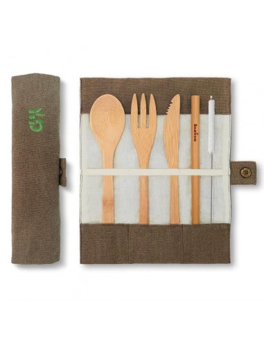 Bamboo cutlery set - Bambaw - 1