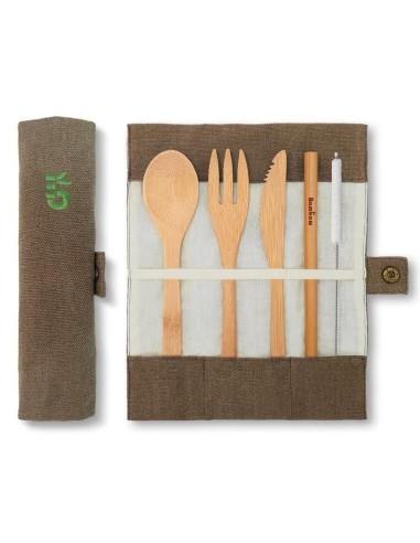 Bambus Besteckset - Bambaw - 1