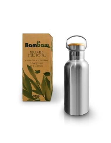 Isolierte Edelstahlflasche 350 ml - Bambaw - 1