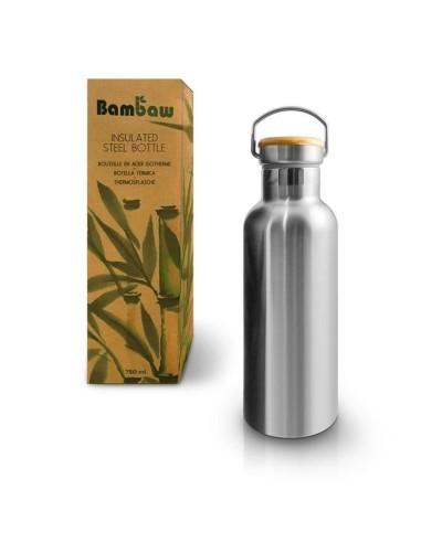 Isolierte Edelstahlflasche 750 ml - Bambaw - 1