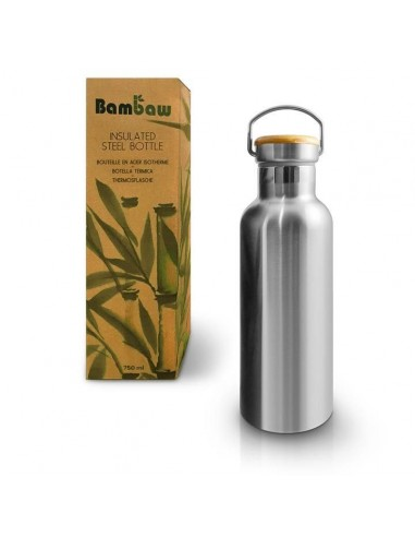 Insulated stainless steel bottle 750 ml - Bambaw - 1