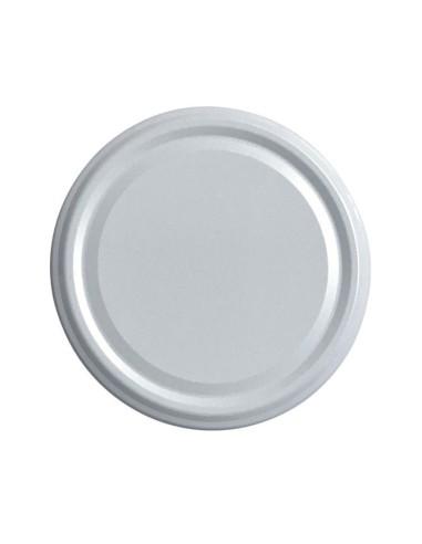 White Twist-off lids Ø 48 mm - Set of 20 - 1