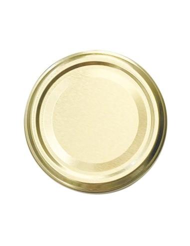Golden Twist-off lids Ø 63 mm - Set of 10 - 1