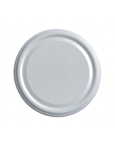 White Twist-off lids Ø 82 mm - Pack of 10 - 1